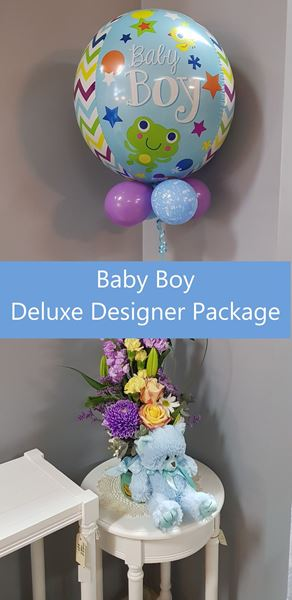 Picture of Baby Boy Deluxe Designer Package