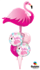 Picture of Flamingo Bouquet Combo