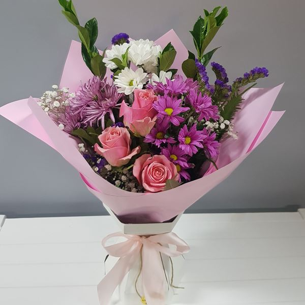 Picture of Designer Wrapped Bouquet