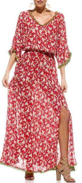 Picture of Naudic - Flamingo Dress - Rosa Print