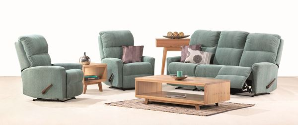 Picture of MURRAY 3 SEATER AND 2 SINGLE RECLINERS