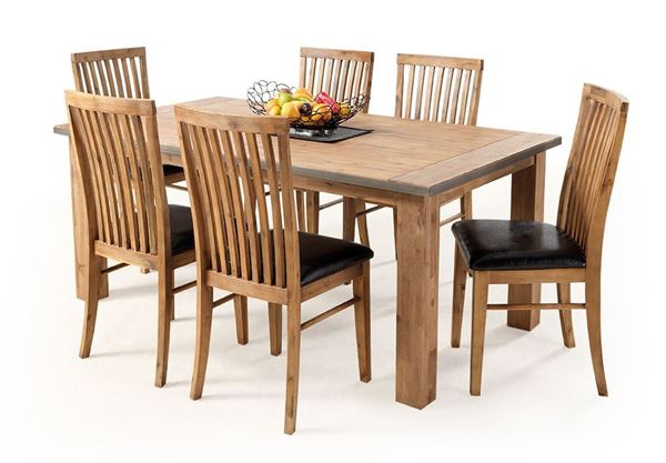 Picture of NELSON 7 PIECE DINING SUITE 1800 WITH CHAIRS