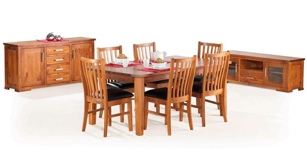 Picture of YORK 9 PIECE DINING SUITE