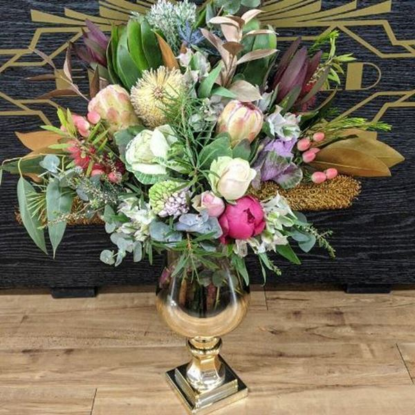 Native Bouquet with Vase