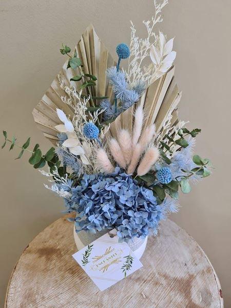 Beautiful Blue | Preserved Floral Arrangement