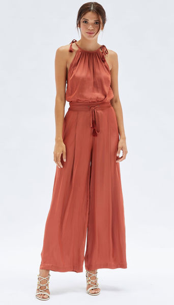 Picture of Susa Pant - Rust    Minkpink